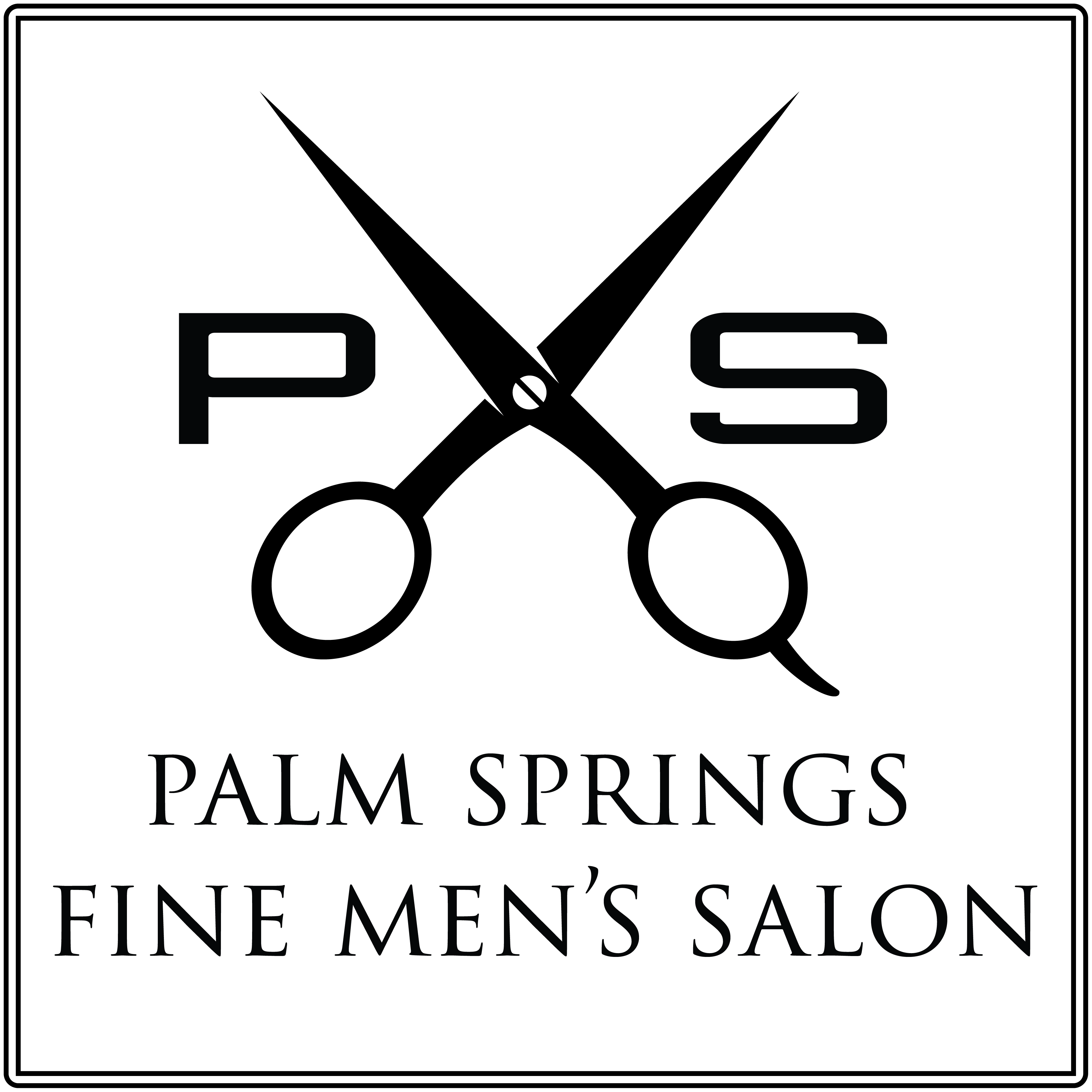 PS Fine Men's Salon Logo